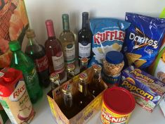 Snacks and Beverages